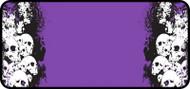 Stacked Skulls Purple