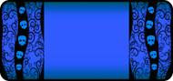 Tangled Skulls Blue