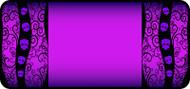 Tangled Skulls Purple