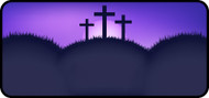 Sunset Cross Purple