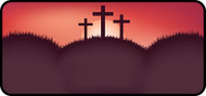 Sunset Cross Red