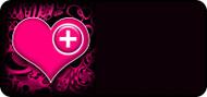Med Heart Pink