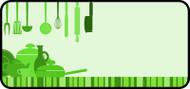Kitchen Clutter Green