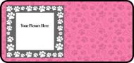 Paw Frame Pink