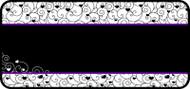 Tangled Heart Scroll Purple