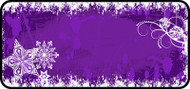 Flakes of Purple