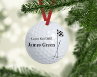 Golfball Ornament