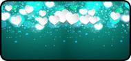 Heart Sparkle Aqua