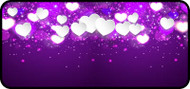 Heart Sparkle Purple