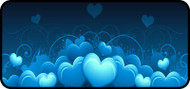 Royal Hearts Blue