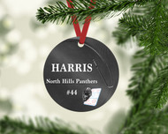 Hockey Puck Ornament