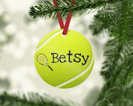 Tennis Ball Ornament