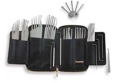 MPXS-62 SouthOrd 69-pc Professional Lock Pick Set