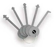 WP10 Stainless Steel Lock Picks for Wafer Padlocks