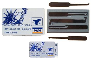 JBCC-5 Credit Card Pick Set