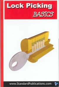 Lock Picking Basics, soft cover book