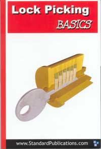 Lock Picking Basics, soft cover book