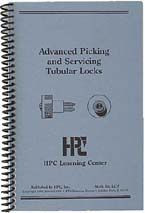 Advanced Picking and Servicing of Tubular Locks - HPC book