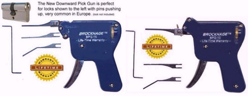 Brockhage, pair of pick guns - BPG-10, BPG-15