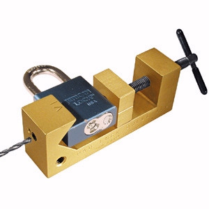 LT612 Padlock Jig - Pro Lok | To drill rekeyable padlocks