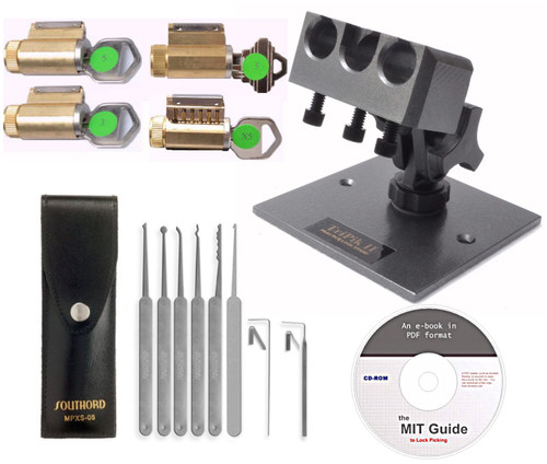 YouTube Lite Lock Picking Practice Kit - Perfect Fit for Beginning Lock Pickers