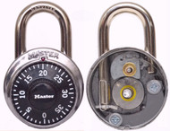The new CutAway Transparent Dismantleable Combination Padlock - by GSR Enterprises