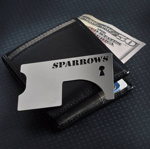 Hall Pass shim tool from Sparrows
