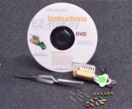 6-Pinned EZ Rekey Cutaway SC Practice Lock Package