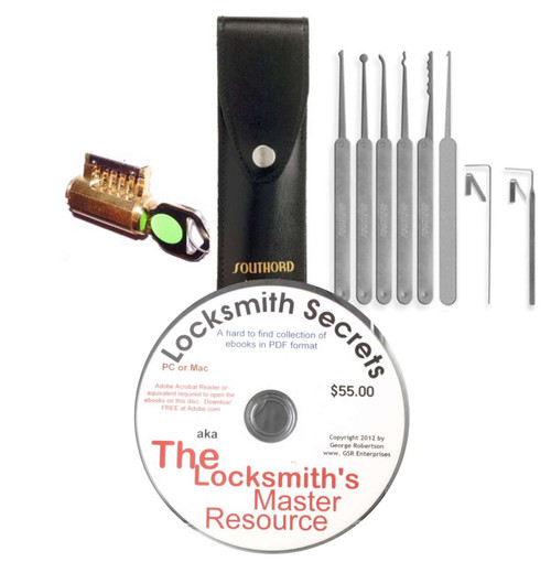 Complete Lock Picking Starter Kit No. 2 - In Stock