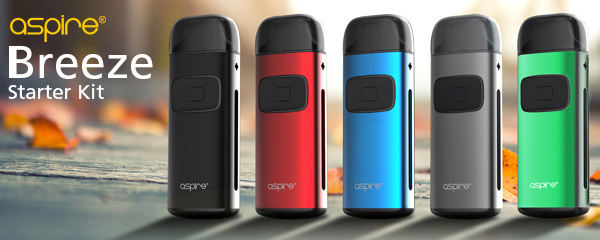 Aspire Breeze Starter Kit for Vaping