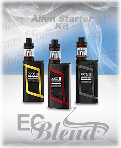 Smoktech Alien 220W Starter Kit at ECBlend Flavors