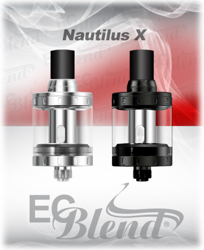 Aspire Nautilus X Clearomizer at ECBlend Flavors