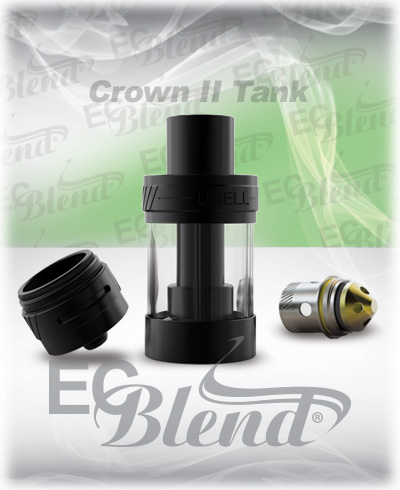 Clearomizer - Uwell - Crown II Tank at ECBlend Flavors