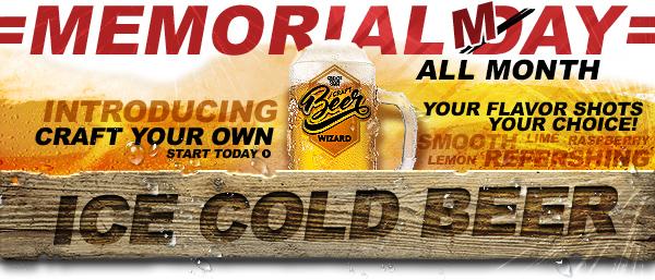 Beer E-liquid, Beer Wizard, Craft Your Own Beer