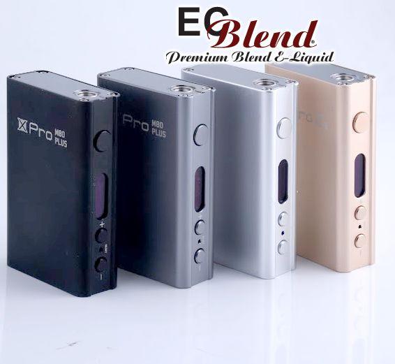 SmokTech - XPro M80 Plus - Box Mod at ECBlend Flavors