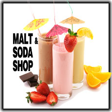 ECBlend Soda and Malt Shop Flavors Premium Blend E-Liquid