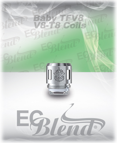 TFV8 Baby Beast T8 Octuple Coil at ECBlend Flavors