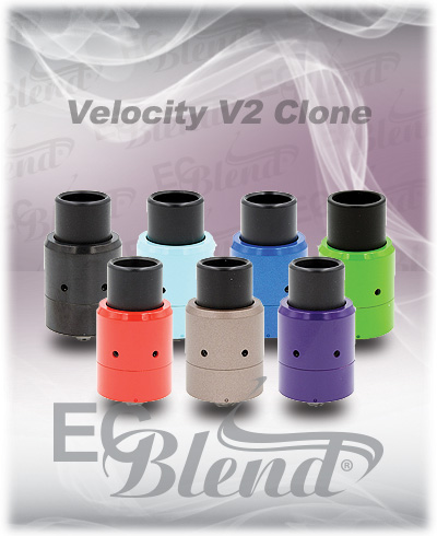 Rebuildable Atomizer - Tobeco - Velocity V2 Clone at ECBlend Flavors