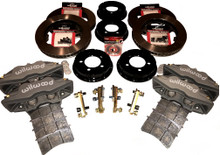 Pantera 4 Piston Brake Kit - 12.19 x 1.25 Rotors w/parking brake