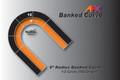 "AFX Racing Track 9"" Radius Banked Curve"