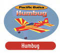 Pacific Balsa Humbug  Rubber Powered Kit