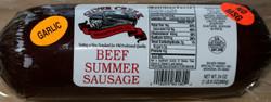 Silver Creek 24oz Garlic Beef Summer Sausage