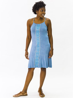 #5906 Embroidered Cocktail Dress