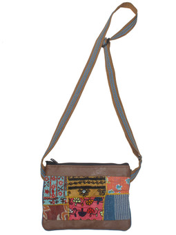 G4160 Mixed Vintage Fabric Bag