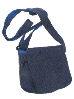 G1580 Hemp Flap Bag