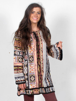 #6222 Psychedelic Tunic