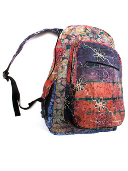 #G1783 Embroidered Floral Print Backpack