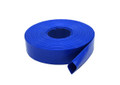 BLUE PVC WATER DISCHARGE HOSE X 300FT