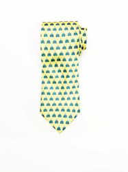 Commander's Palace Yellow Tie made by Nola Couture