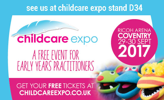 We are at Childcare Expo 29-30 September